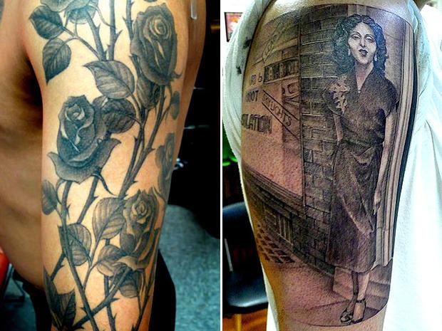 Mark Mahoney tattoo designs