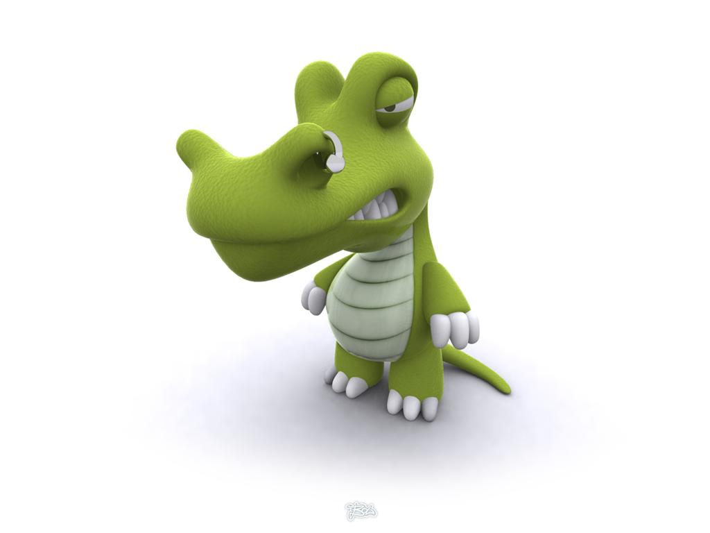 dinosaur 3d funny image