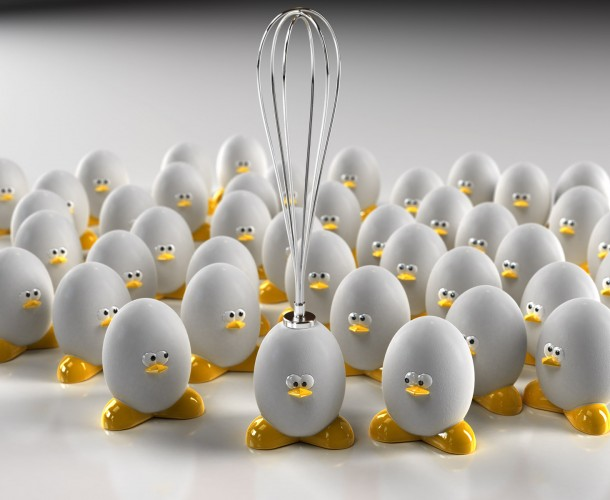 funny 3d eggs photo