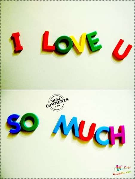 i love u so much