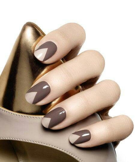 8 triangular nail design