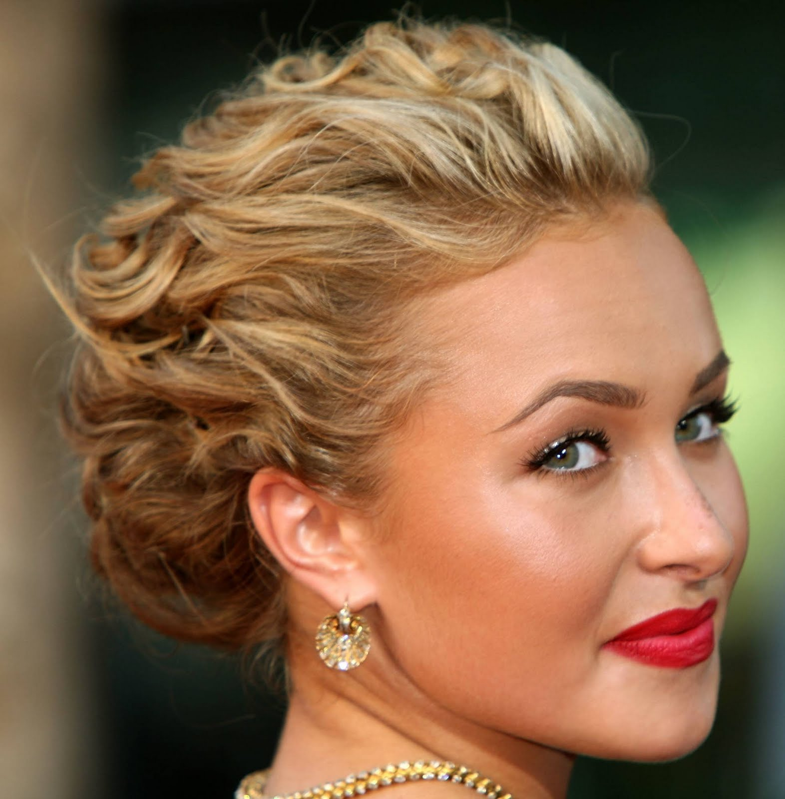 Curly Prom Updo
