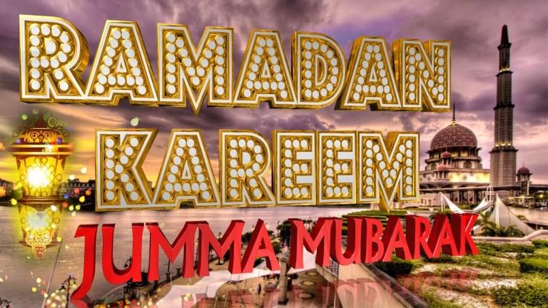 Ramadan Kareen Jumma Mubarak