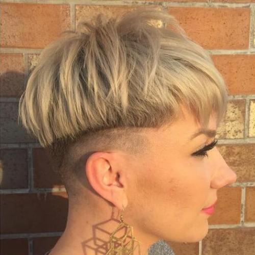 feathered bowl haircut