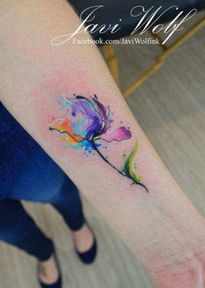 small flower tattoo design