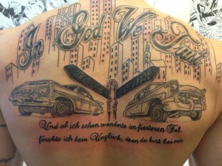 in god we trust tattoo design