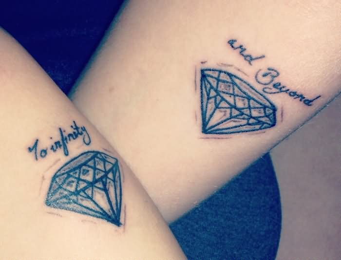 matching to infinity and beyond tattoos