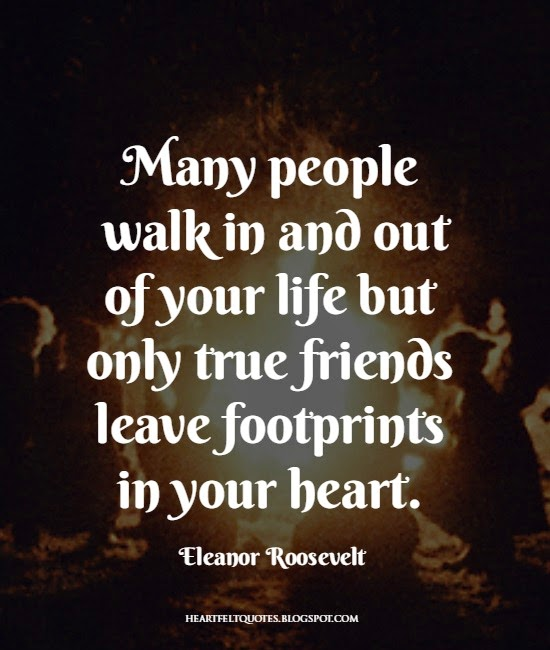 Eleanor Roosevelt Heart Touching Friendship Quote
