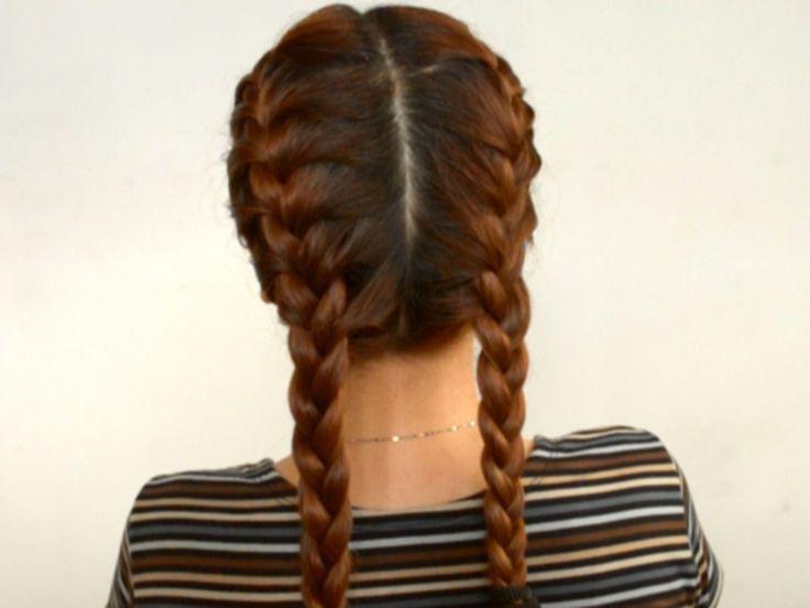 do 2 french braids