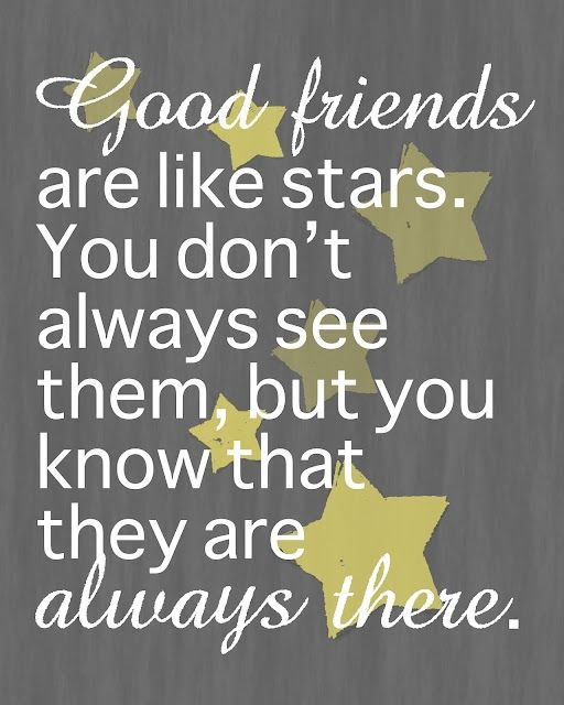 good friends quote heart touching