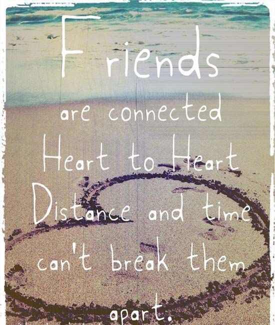 heart touching friendship quote
