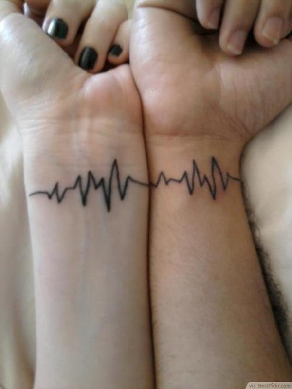 lifeline couples wrist tattoo