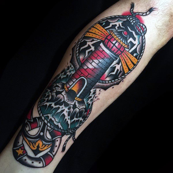 light-house traditional tattoo designs