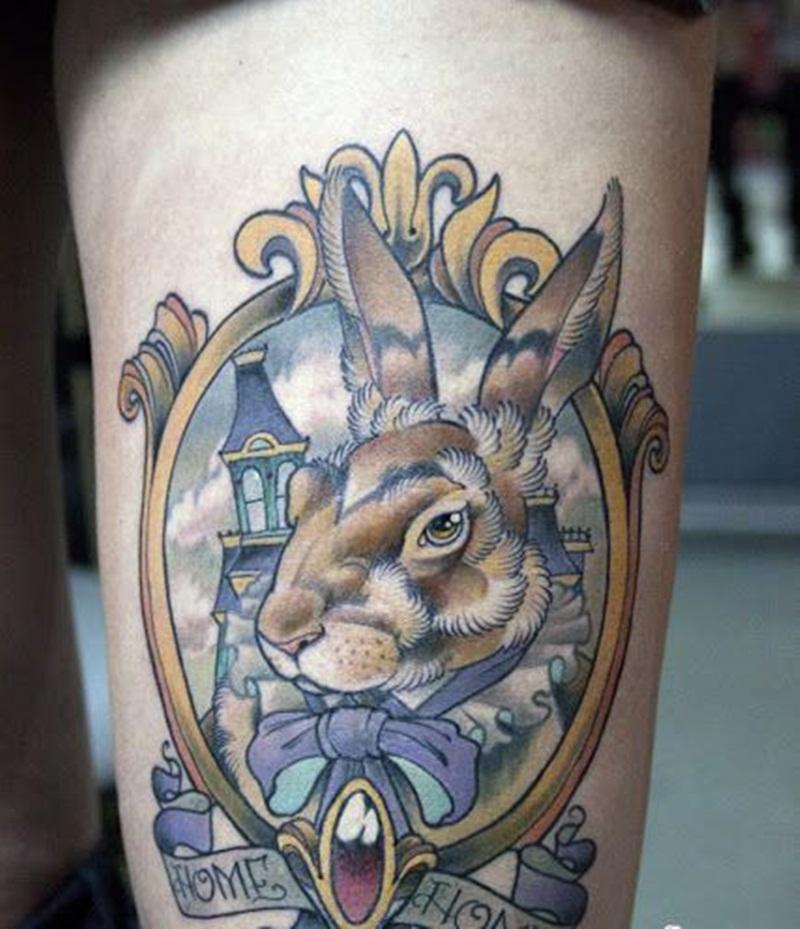 traditional alice in wonderland tattoo ideas
