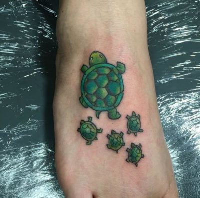 turtle family tattoo