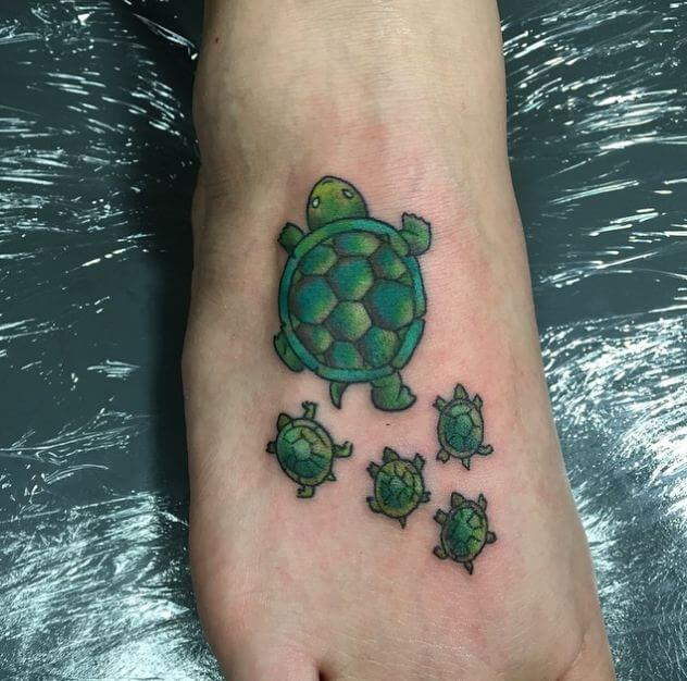 turtle family tattoo