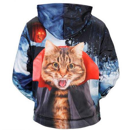 wizard cat halloween hoodies