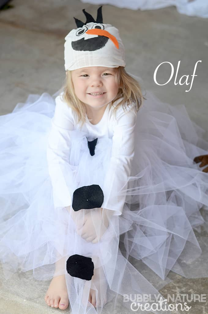 diy disney olaf girl costume ideas for halloween