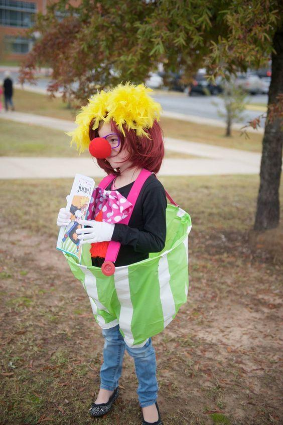 junie-b-jones first grader costume idea