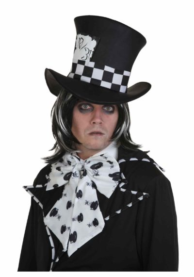 mad hatter halloween costume ideas for guys with long hair