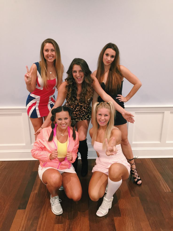 spice girls halloween costume ideas for college girls