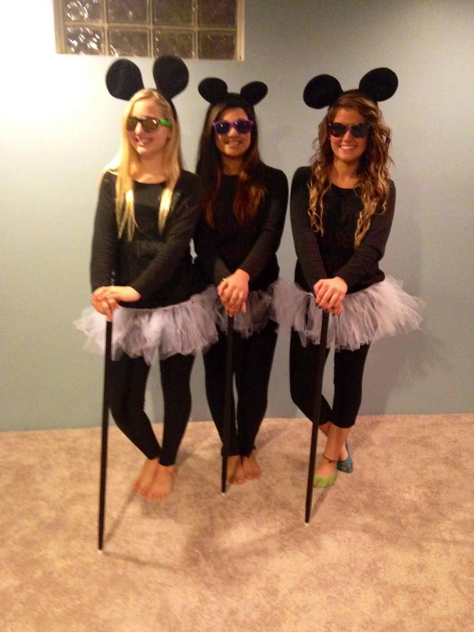 three blind mice girls halloween costumes