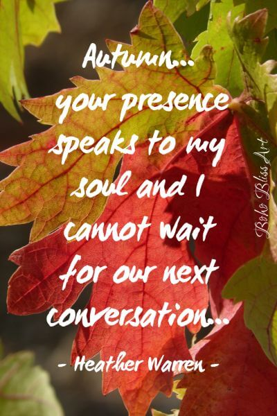 autumn and love quotes