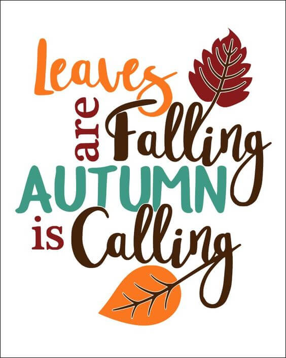 autumn pictures with quotes