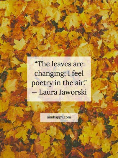 leaves in autumn quotes