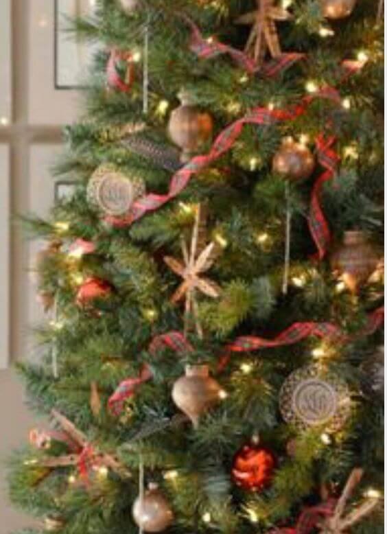small Christmas tree decorations