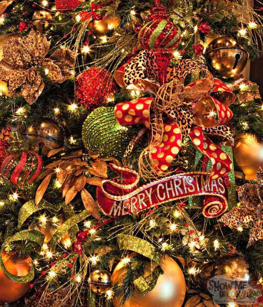 Christmas ornament effects