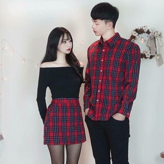 matching full outfits for boyfriend-girlfriend