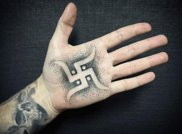 swastika tattoo ideas