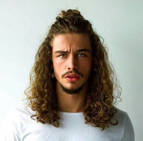 men extra long haircuts