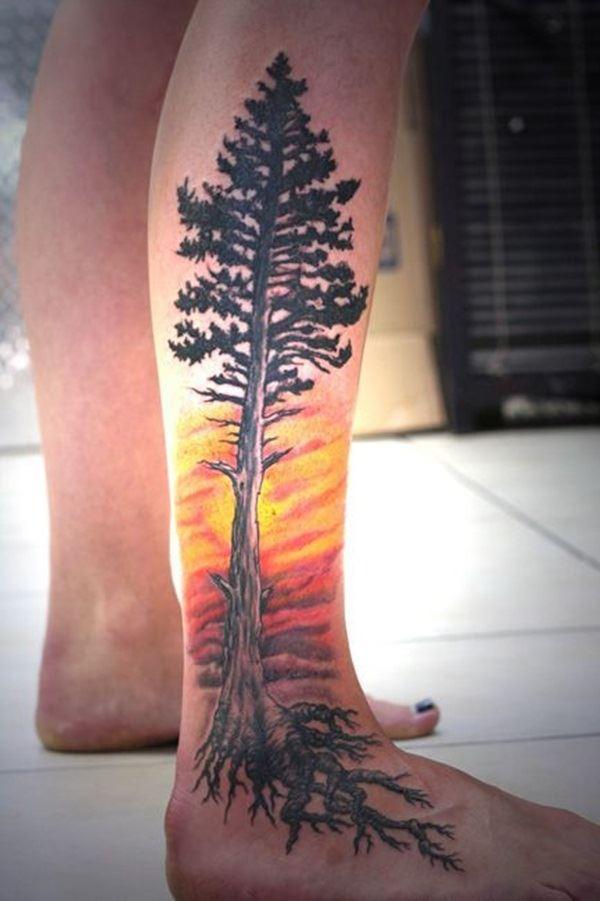 nature tattoo design