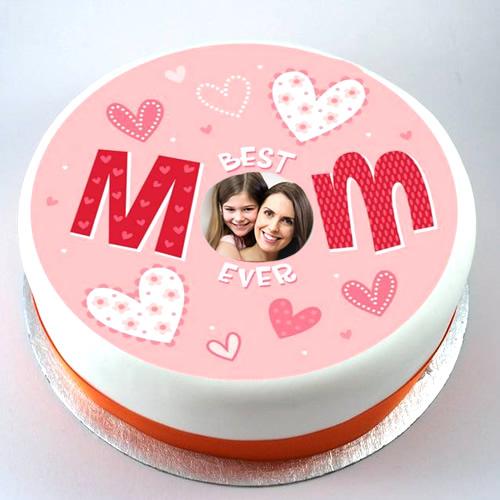 photo cake ideas for mom