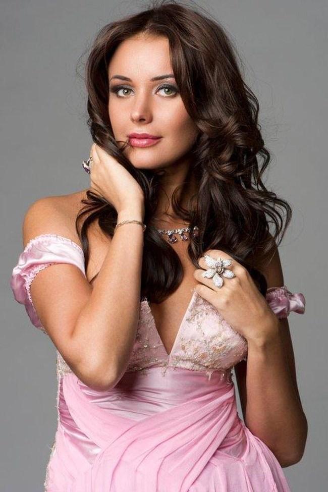 most beautiful Russian women Oksana Fedorova