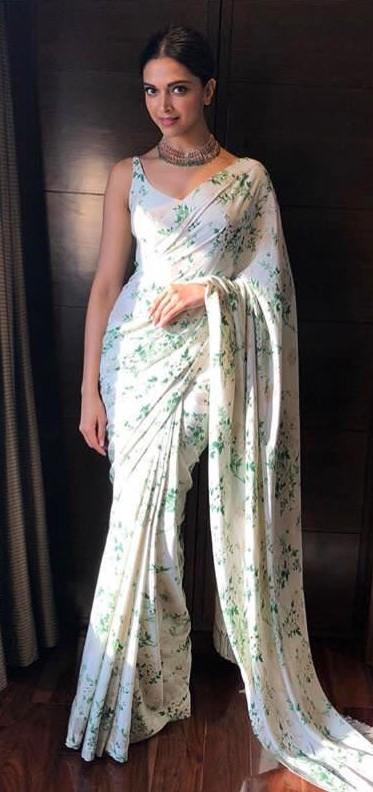 Deepika Padukone Designer Sarees
