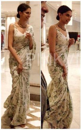 DeepikaPadukone Designer Sarees
