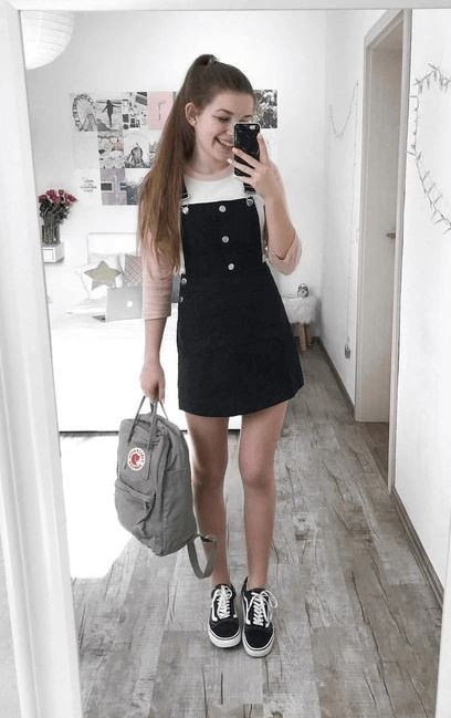 short denim overalls for teenage girls