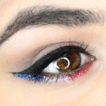 red white and blue makeup looks for 4th of july
