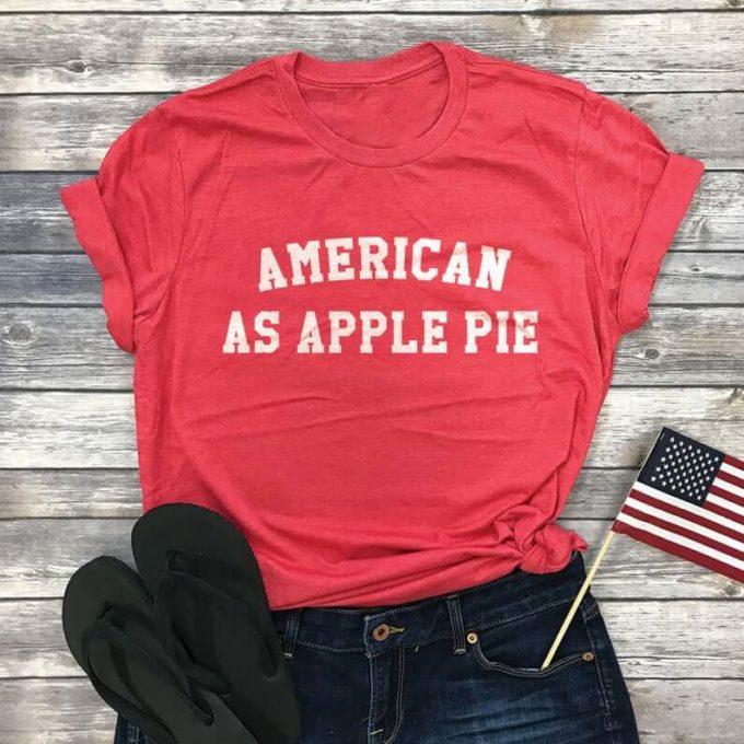 american as apple pie t shirt for Women