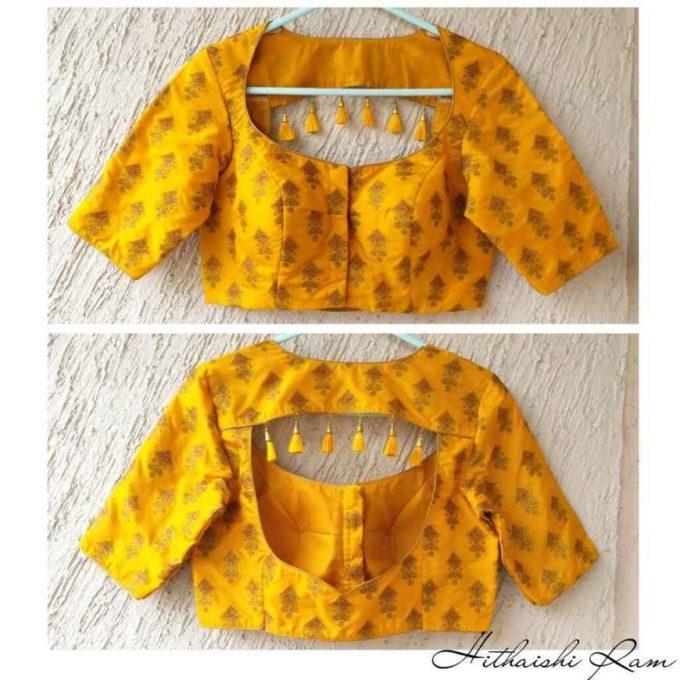 latest blouse pattern designs 2019