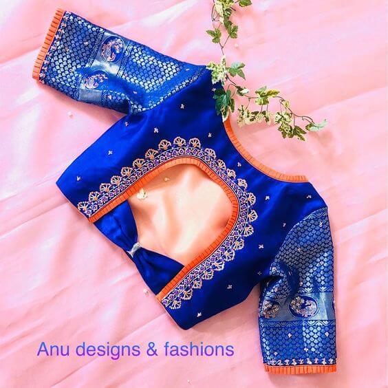 latest designer blouse pattern designs