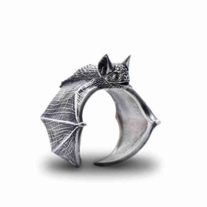 cute vintage bat ring jewellery