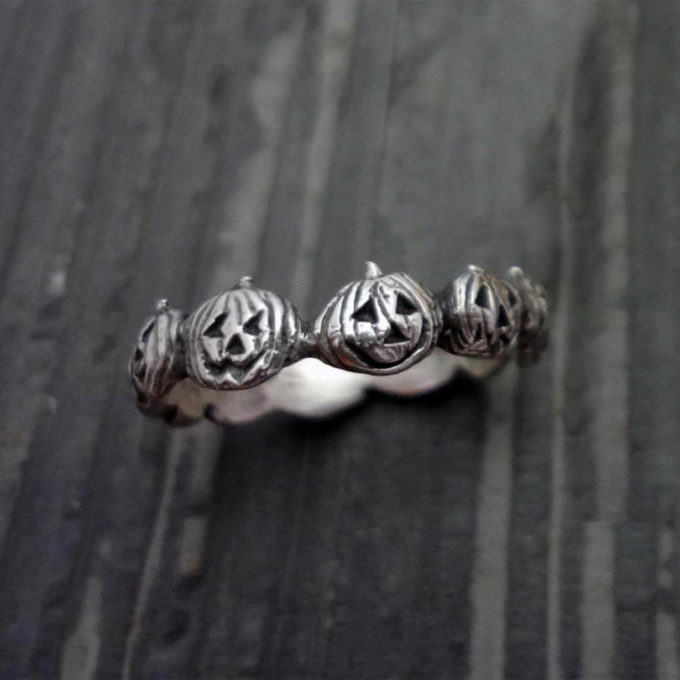 halloween pumpkin ring