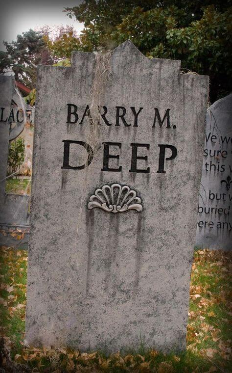 halloween tombstone ideas