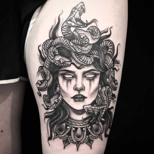 medusa tattoo ideas