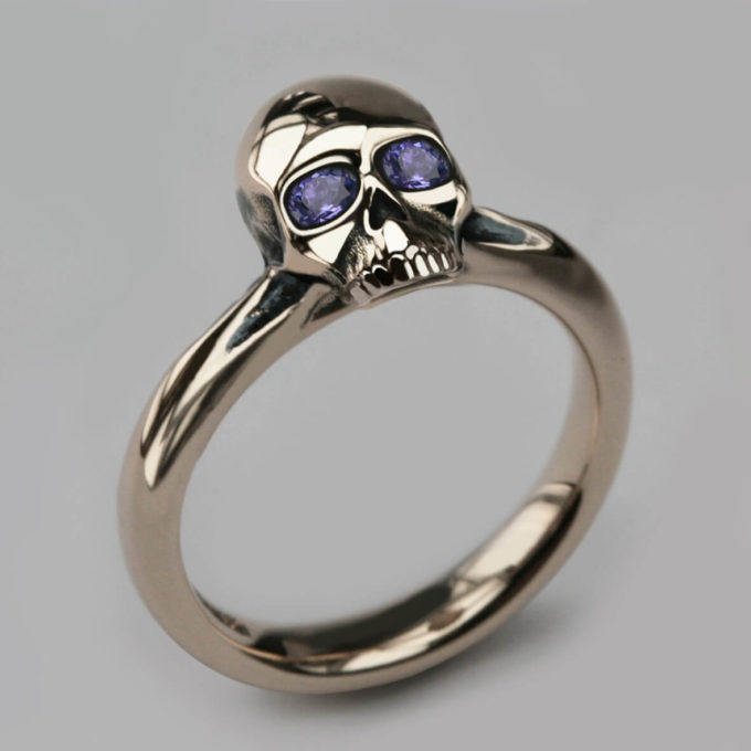skull ring jewelry for women