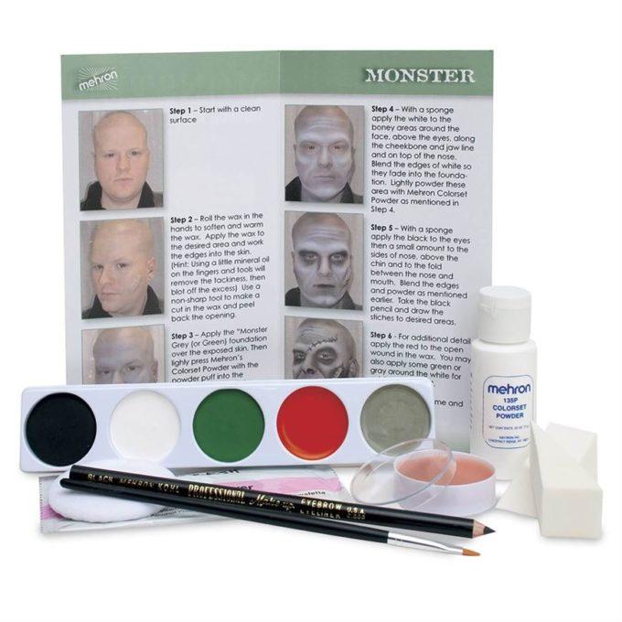 Frankenstein Monster Makeup Kit